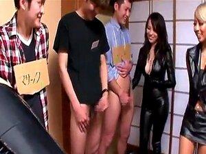 Japonês De Couro Senhoras Repuxa E Mijando Porn