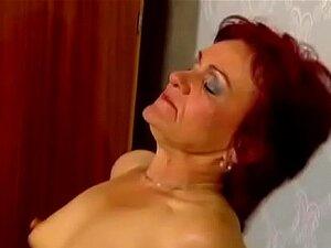 Avozinha Ruiva Leva Porrada Anal Porn