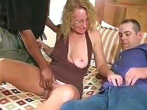 Madura Loira Escória Trio Mmf, Porn