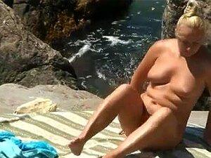 Em Trajes Da Natureza Praia Trinta, Porn