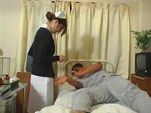 Prostituta Japonesa Exótica EMI Yoshida Em Enfermeira Maluca, Filme De Javali Peludo Porn