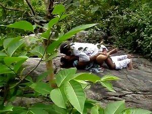 Desi Randi Da Índia Do Sul A Foder Na Selva, Porn