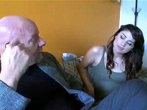 Velho Com Babe Sexy, Porn