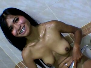 Asian Babe Gets Cum On Face Porn