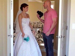 Noiva Deslumbrante Faciais Por Seu Fotógrafo Porn