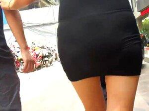 Doblado Pegada Negra De Mariana, CULOS EN LA CALLE Porn