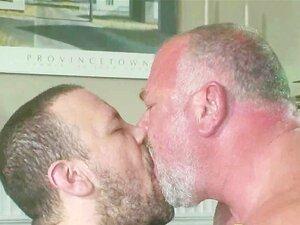 Urso Velho Casal Gay Sexo Porn