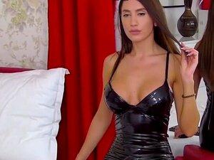 Vestido De Látex SasshaRed Livejasmin, Porn