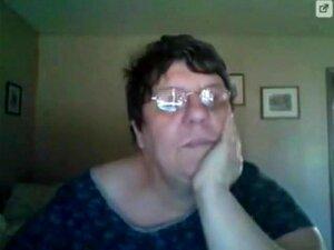Avó Amadora Gorda Na Webcam, Porn